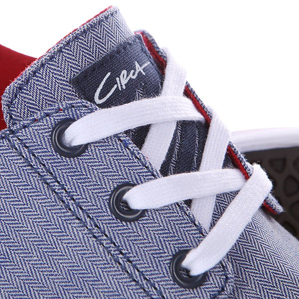 Кеды низкие Circa Crip Blre Blue/Red