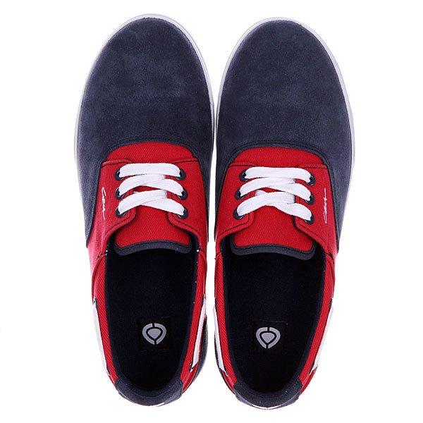 Кеды низкие Circa Valeo Blrt Blue/Red Twill