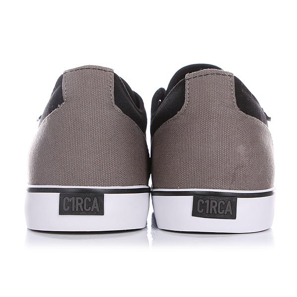 Кеды низкие Circa Drf Bkgy Black/Gray