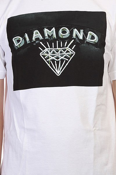 Футболка Diamond Jewlers Row White