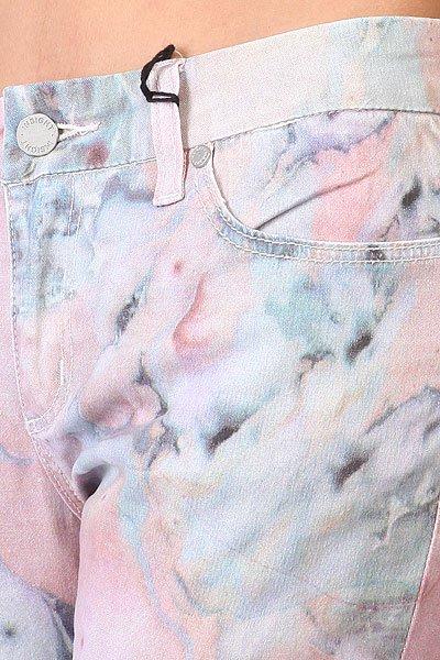 Штаны узкие Insight Marbling Pink