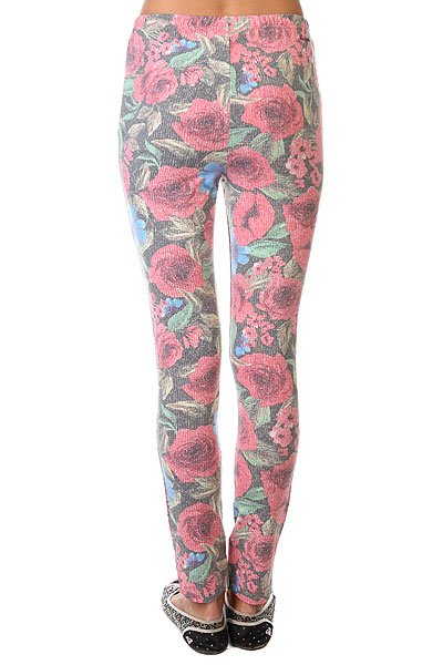 Леггинсы женские Insight Floral Bouquet Leggings Red
