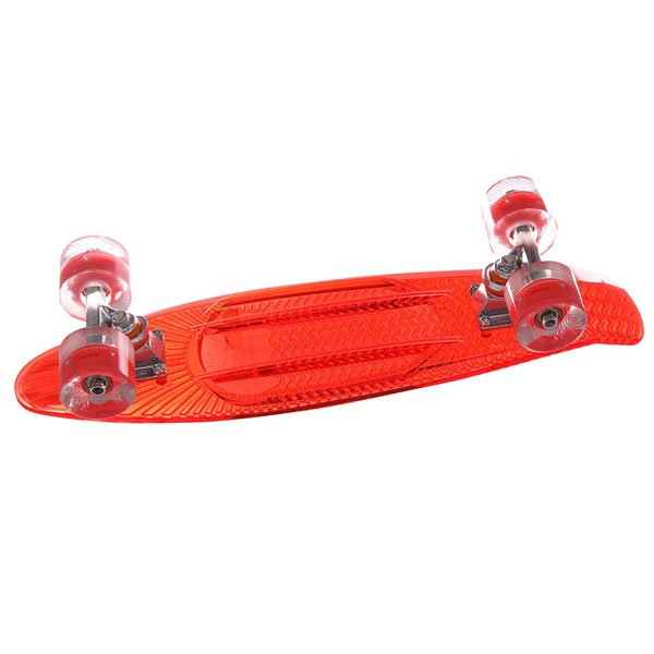 Скейт мини круизер Sunset Lifeguard Complete Red Deck Red Wheels 6 x 22 (56 см)