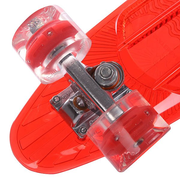 Скейт мини круизер Sunset Lifeguard Complete Red Deck Red Wheels 6 x 22 (56 см)