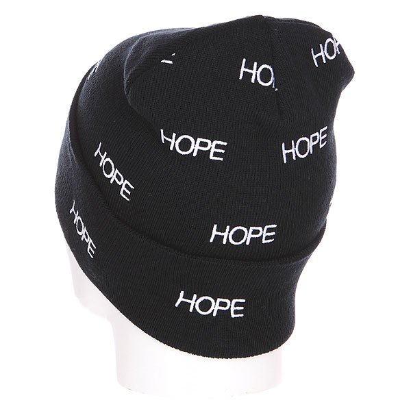 Шапка TrueSpin Hope Allove Classic Beanie Black