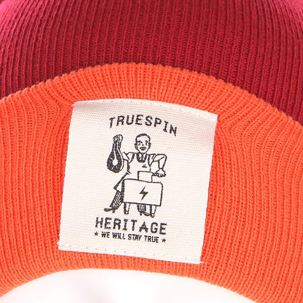 Шапка TrueSpin Heritage Classic Beanie Red/Orange