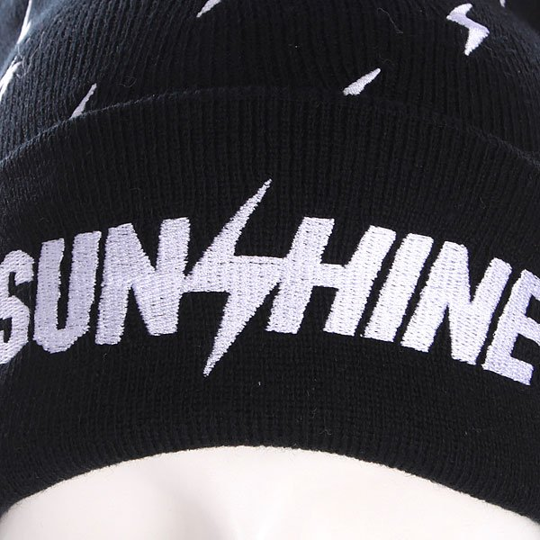 Шапка с помпоном TrueSpin Sunshine Allove Pom Beanie Black