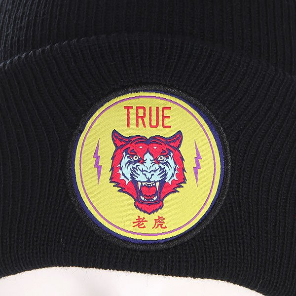 Шапка TrueSpin Tiger Classic Beanie Navy/Yellow