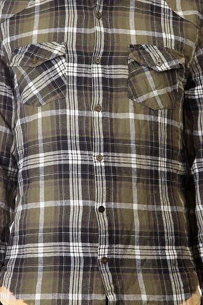 Рубашка в клетку Insight Freedom Flannel Acdc Green
