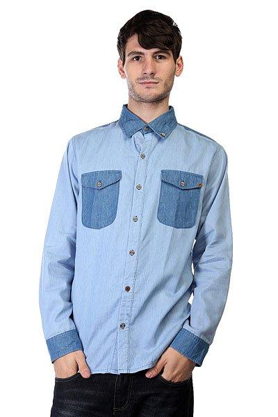 Рубашка Insight No Fool Bleach Blue Classic