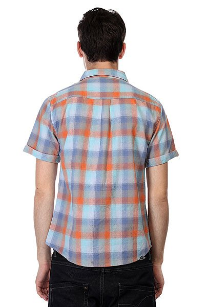 Рубашка в клетку Insight Dazed Blue Mercy
