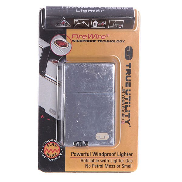Зажигалка True Utility Firewire Classic Lighter Tu60 Grey