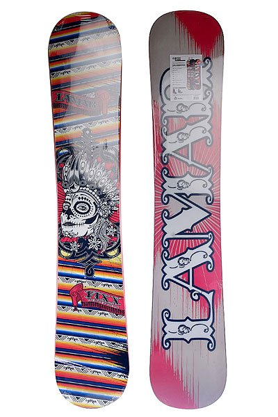 Сноуборд Lamar Fixx Anti Cam Sidewall 163w Multicolor