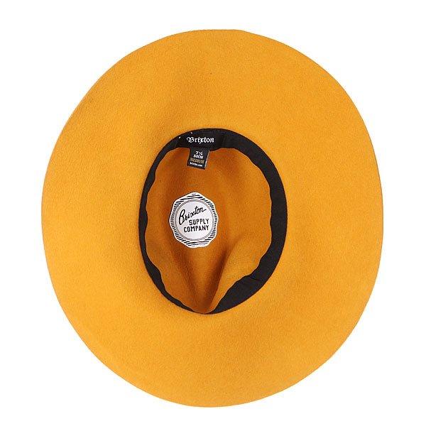 Шляпа женская Brixton Piper Hat Mustard