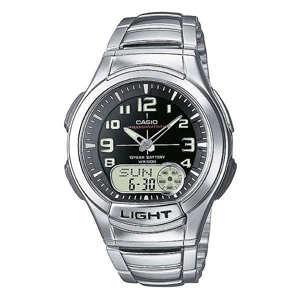 Часы Casio Collection Aq-180wd-1b Grey