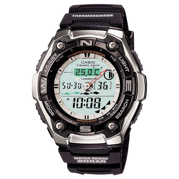 фото Часы Casio Collection Aqw-101-1a Black/Grey