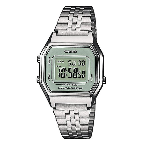 Часы женские Casio Collection La680wea-7e Grey