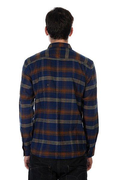 896562e9ef930af Купить рубашку в клетку DC Vibration Blue (EDYWT03045-BTA1) в ...