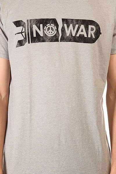 Футболка Element No War Grey Heather