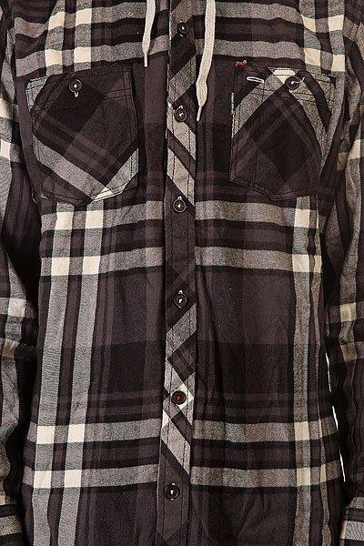 Рубашка в клетку Element Arroyo Black