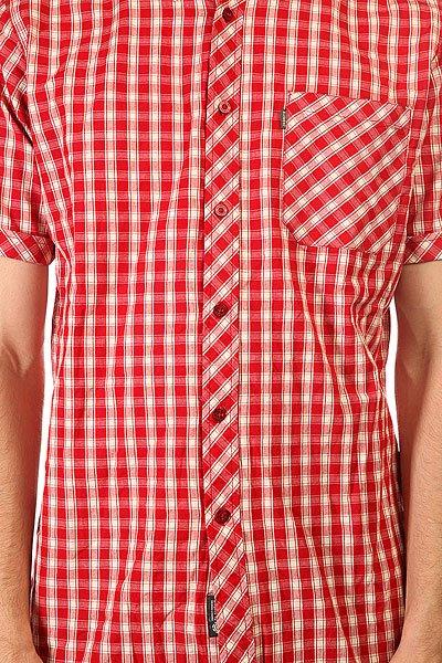 Рубашка в клетку Element Cortes Jester Red