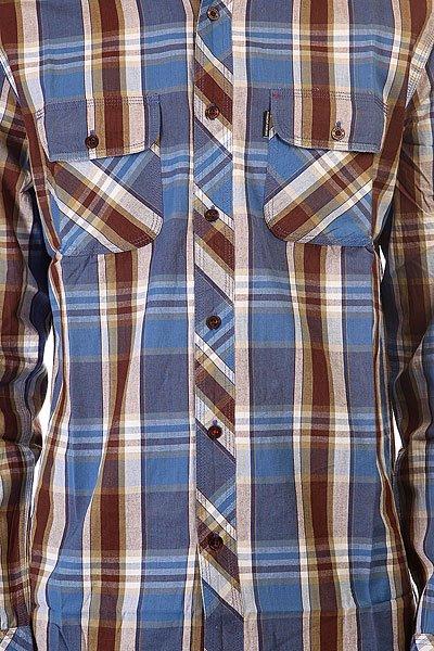 Рубашка в клетку Element Weyburn Blue Marble