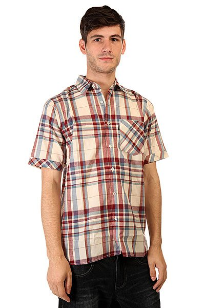 Рубашка в клетку Element Norfolk Natural