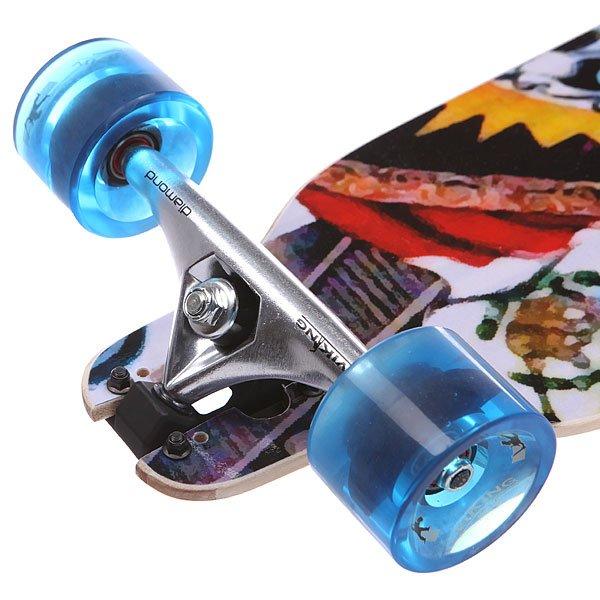 Скейт круизер Pumpkin Wing D.t. 84 Diamond Complete Mexico Multicolor 8.25 x 33.25 (84 см)