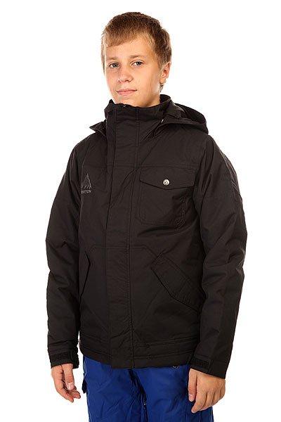 Куртка утепленная детская Burton Fray True Black