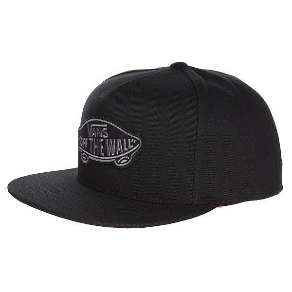 Бейсболка с прямым козырьком Vans Classic Patch Snap Black