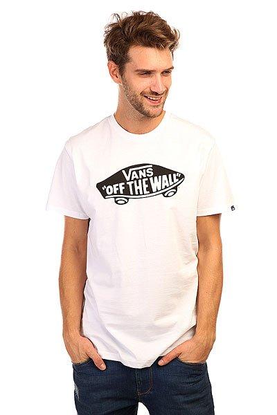 Футболка Vans Otw White/Black