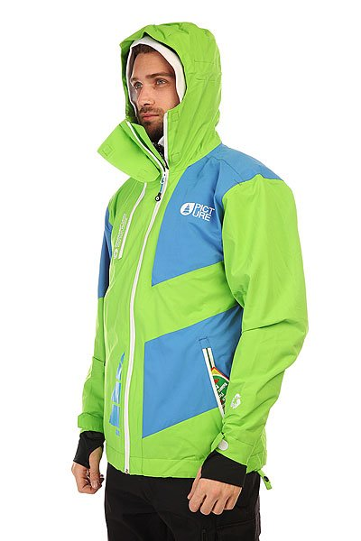 Куртка Picture Organic Arpin Green/Blue