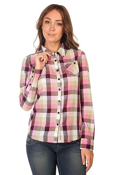 Рубашка в клетку женская Zoo York Plaid Top Real Gum
