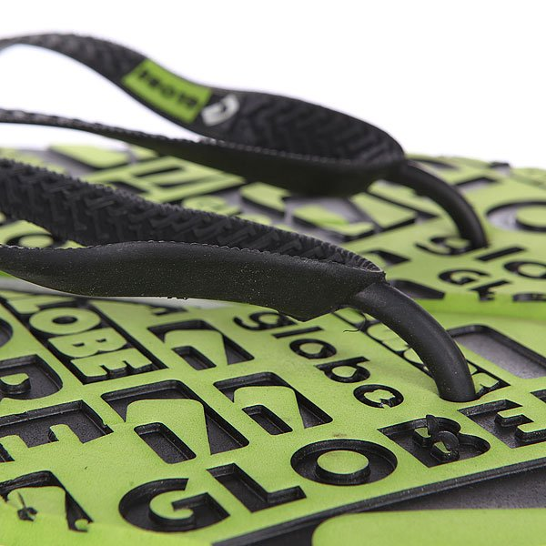 Вьетнамки Globe Closeout Lime/Black