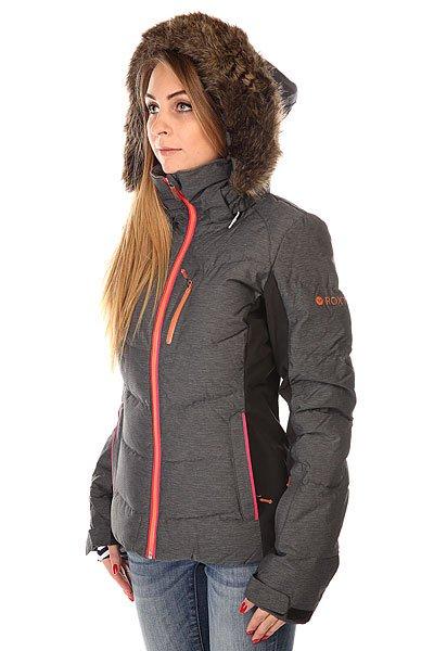 Куртка женская Roxy Snowstorm Jk J Snjt Anthracite BIOTHERM