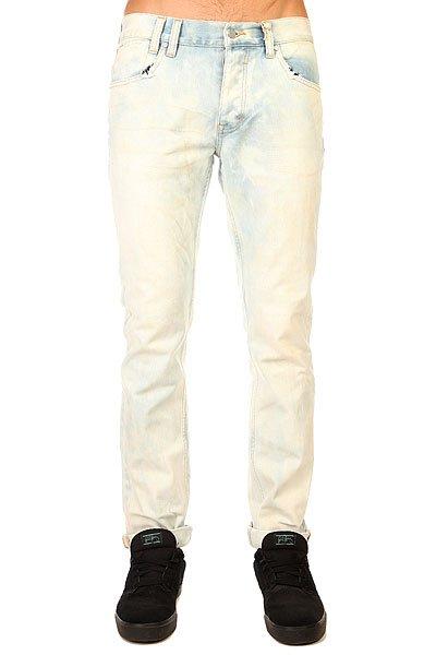 Джинсы узкие Insight Jeans Tie Dye Blue