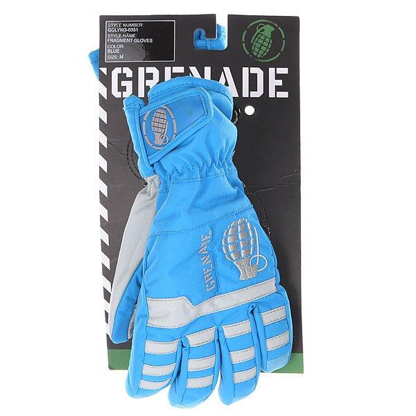 Перчатки сноубордические детские Grenade Fragment Gloves Blue