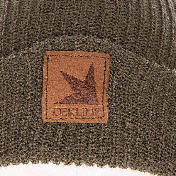 Шапка Dekline Gloucester Beanie Army