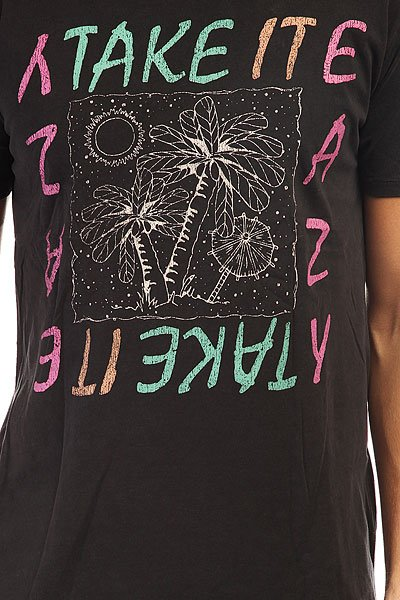 Футболка Globe Flash Back Tee Acid Black Easy