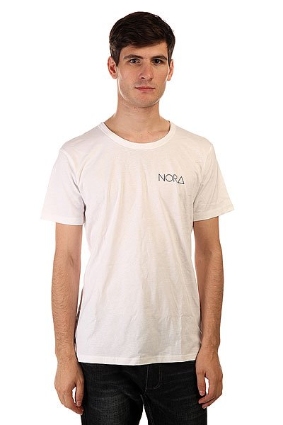 Футболка Nord Skateboards Logo Tee Shirt White