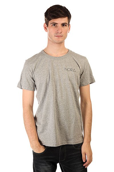 Футболка Nord Skateboards Logo Tee Shirt Grey