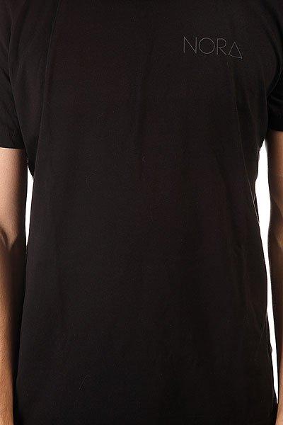 Футболка Nord Skateboards Logo Tee Shirt Black