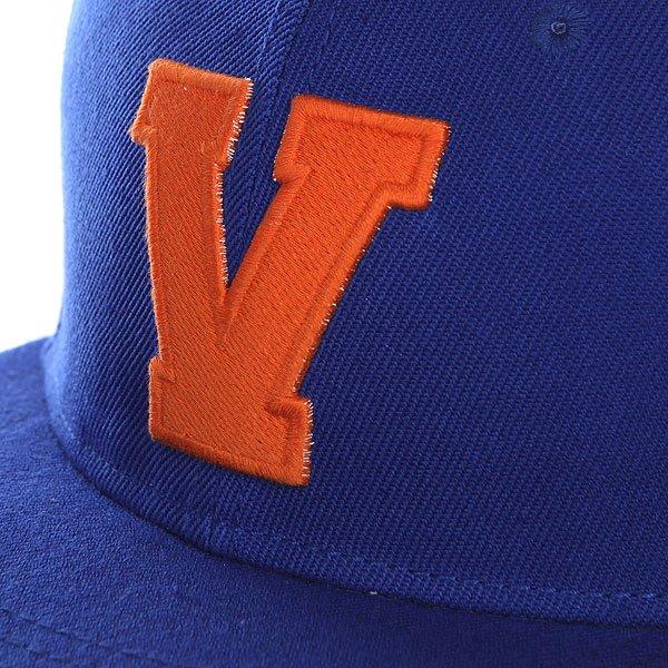 Бейсболка с прямым козырьком TrueSpin Abc Royal-v