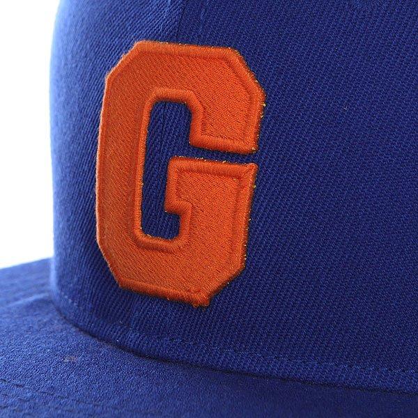 Бейсболка с прямым козырьком TrueSpin Abc Royal G