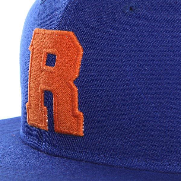 Бейсболка с прямым козырьком TrueSpin Abc Royal R
