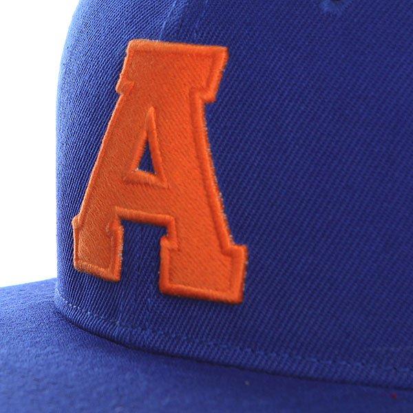 Бейсболка с прямым козырьком TrueSpin Abc Royal A