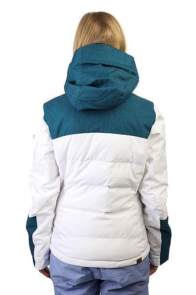 Куртка женская Roxy Flicker Jk Bright White BIOTHERM