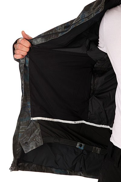 Куртка Quiksilver Dark Stormy Space Reflector Army