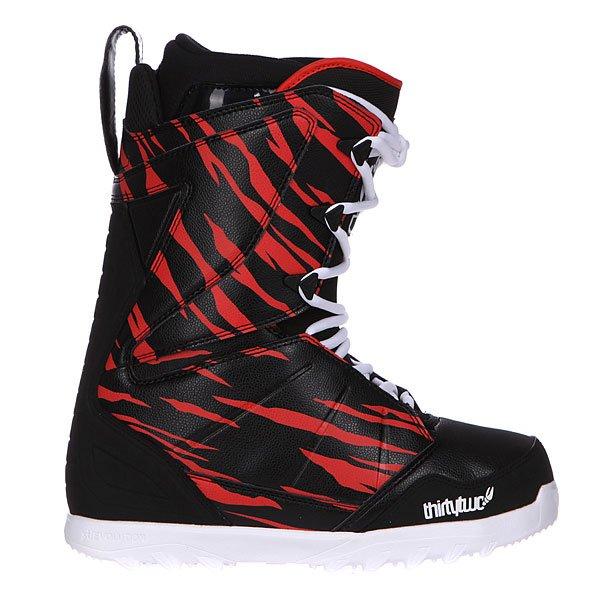 Ботинки для сноуборда Thirty Two Z Lashed Crab Grab Black/Red/White