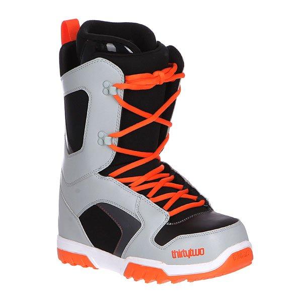 Ботинки для сноуборда Thirty Two Z Exit Grey/Black/Orange